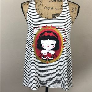 Snow White Disney Tank Top. Art Edition